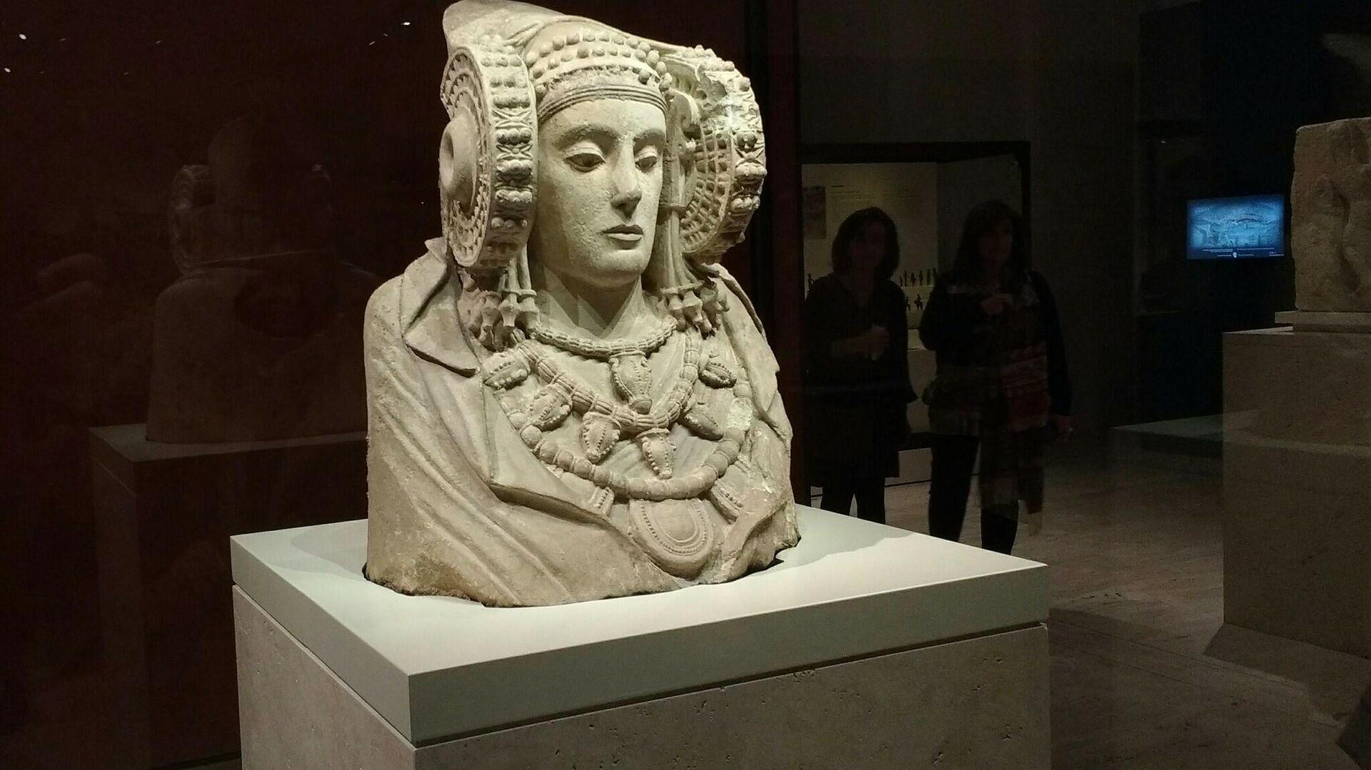 La Dama de Elche, en el Museo Arqueológico Nacional - Sputnik Mundo, 1920, 11.03.2021