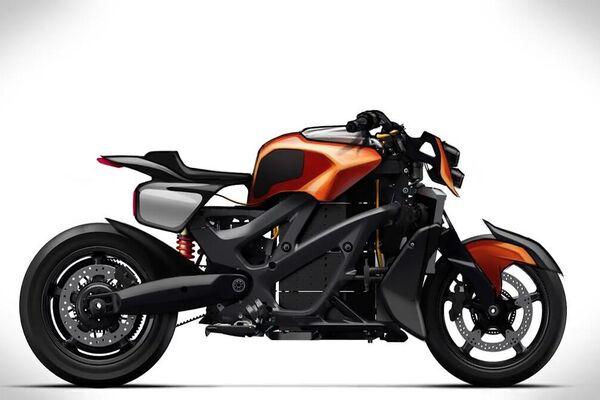 El prototipo de la moto eléctrica Aurus - Sputnik Mundo
