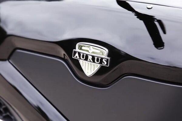 El logo de la marca de lujo Aurus - Sputnik Mundo