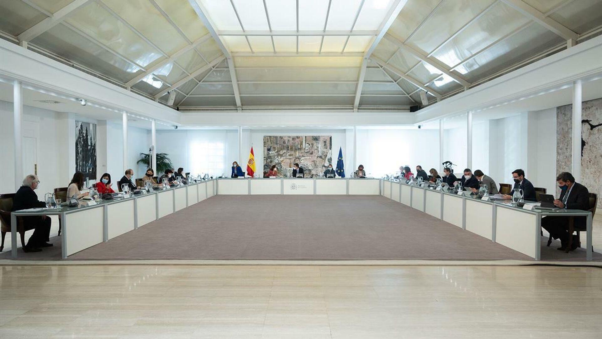Reunión del Consejo de Ministros del 12 de marzo de 2021 - Sputnik Mundo, 1920, 12.03.2021