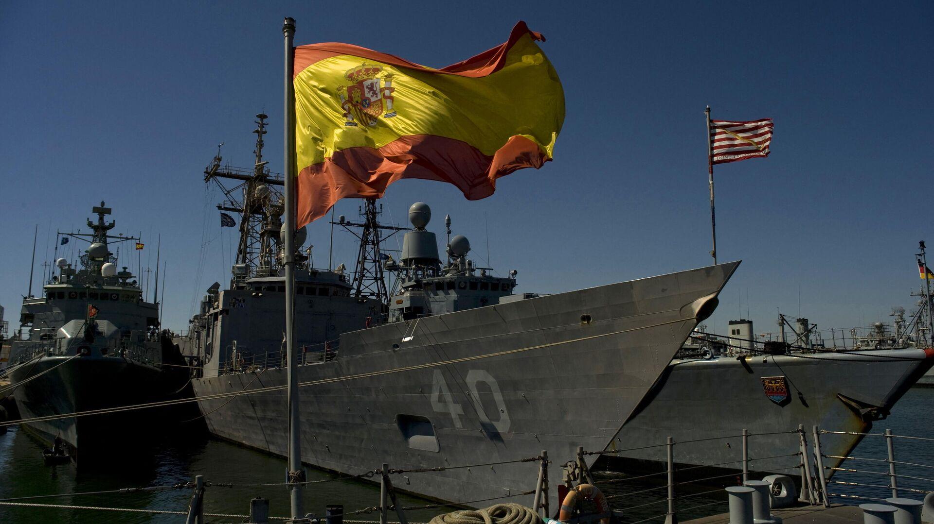 Fragadas en la base naval de Rota, España - Sputnik Mundo, 1920, 12.03.2021