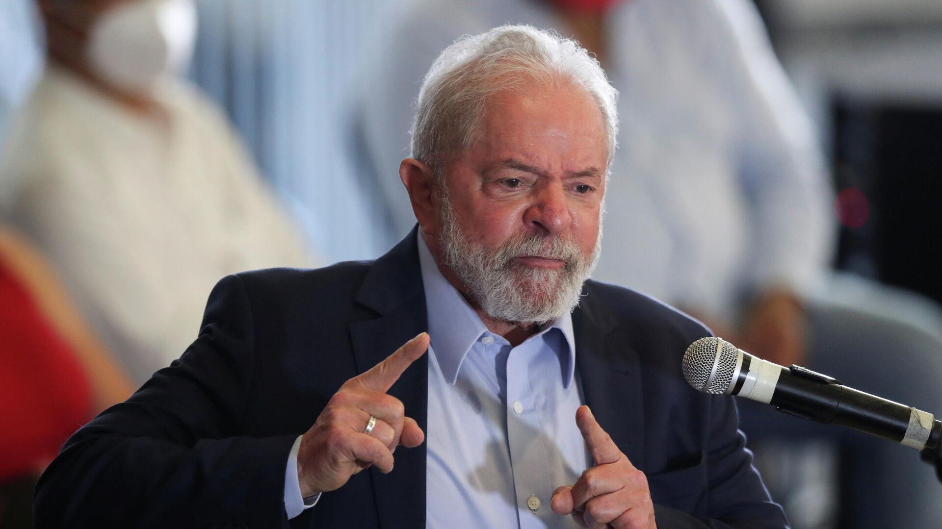 El expresidente brasileño Luiz Inácio Lula da Silva - Sputnik Mundo, 1920, 12.03.2021