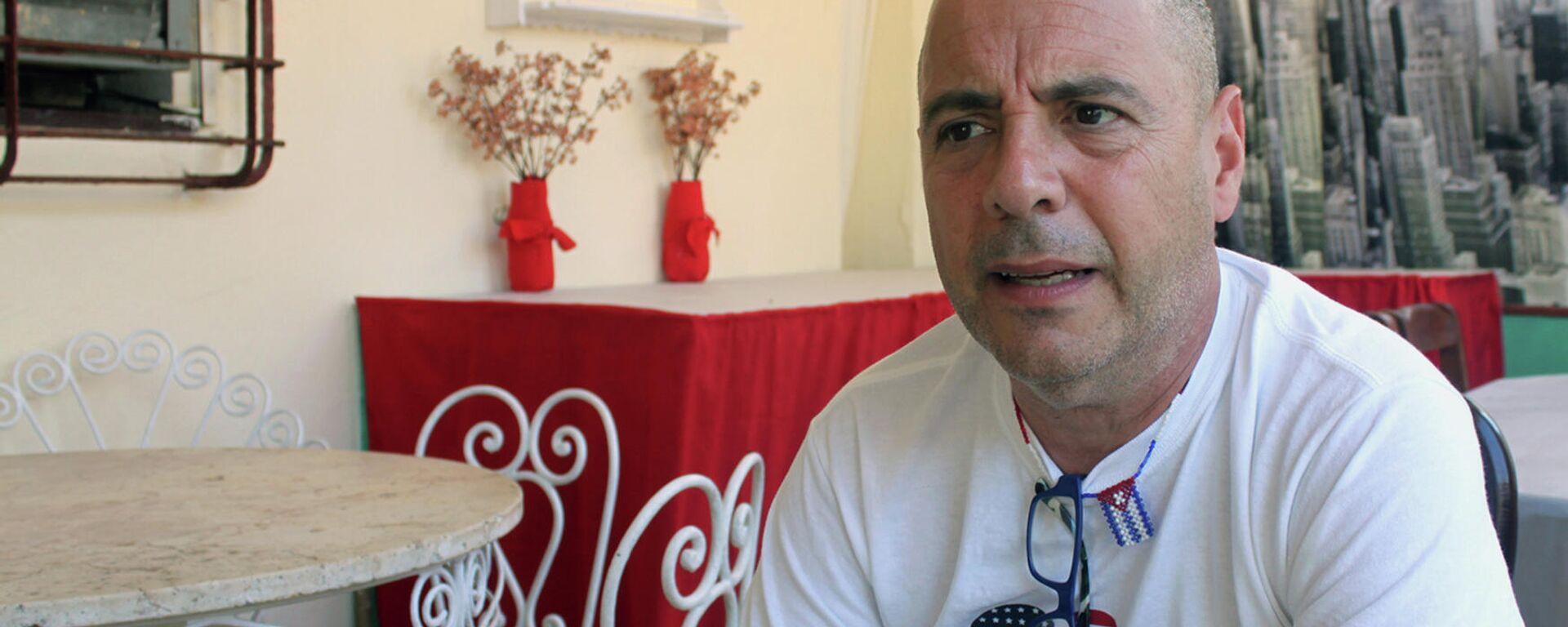Carlos Lazo, profesor cubanoamericano residente en EEUU y activista por la normalización de relaciones Cuba-EEUU - Sputnik Mundo, 1920, 12.03.2021