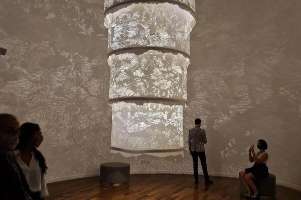 Sala Triunfal, con obras de Johanna Wilhelm y Axel Krygier  - Sputnik Mundo