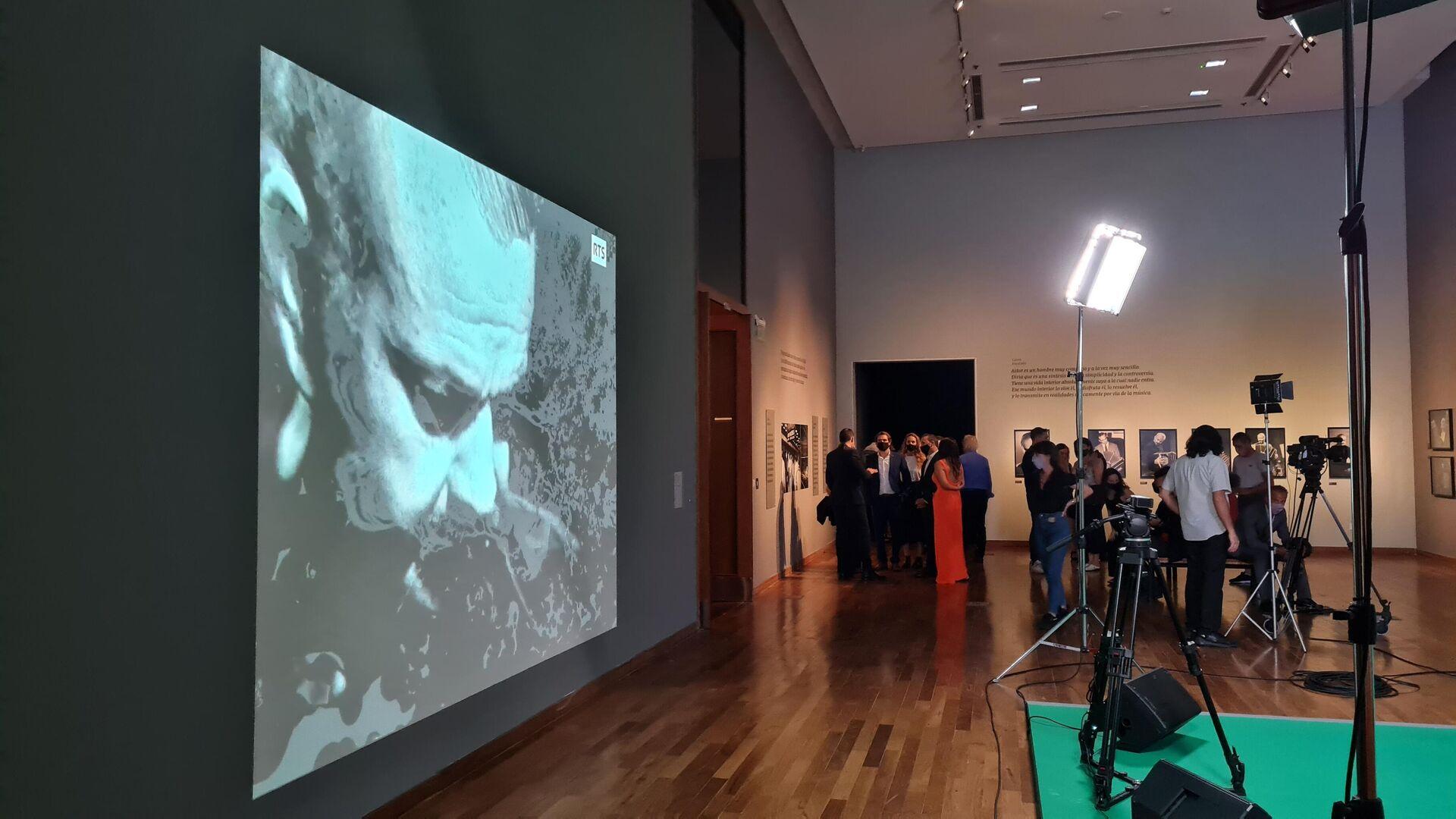 Muestra de Ástor Piazzolla en Centro Cultural Kirchner - Sputnik Mundo, 1920, 12.03.2021