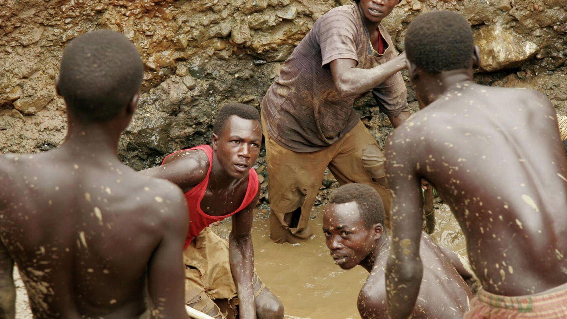 Minería de oro en el Congo, foto de archivo - Sputnik Mundo, 1920, 13.03.2021