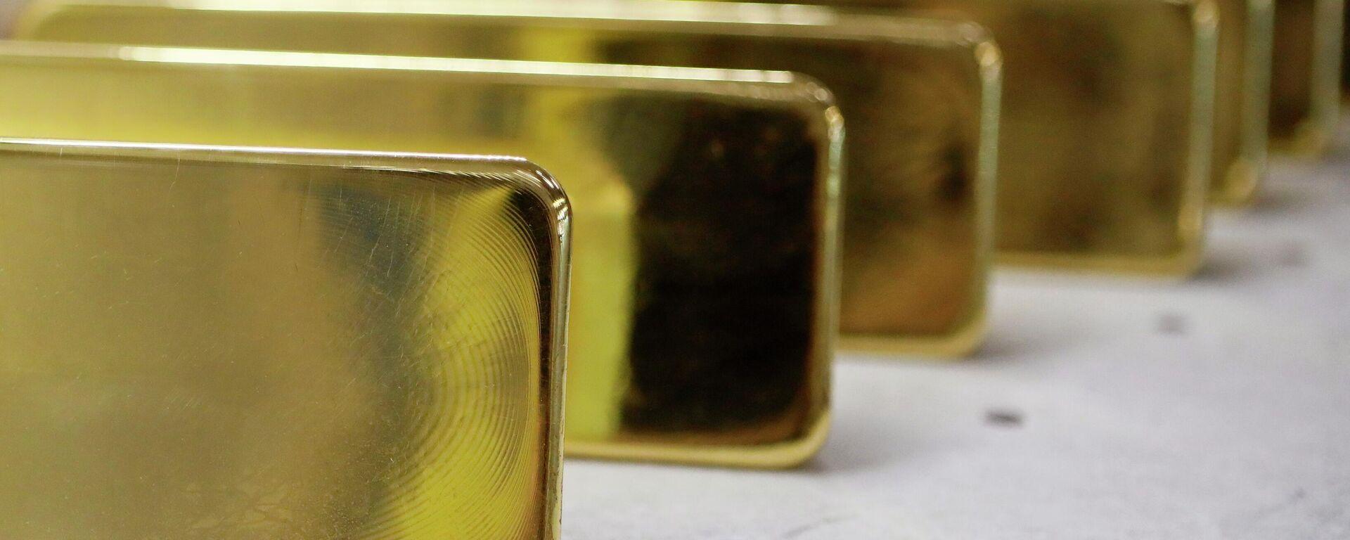 Lingotes de oro - Sputnik Mundo, 1920, 13.07.2021