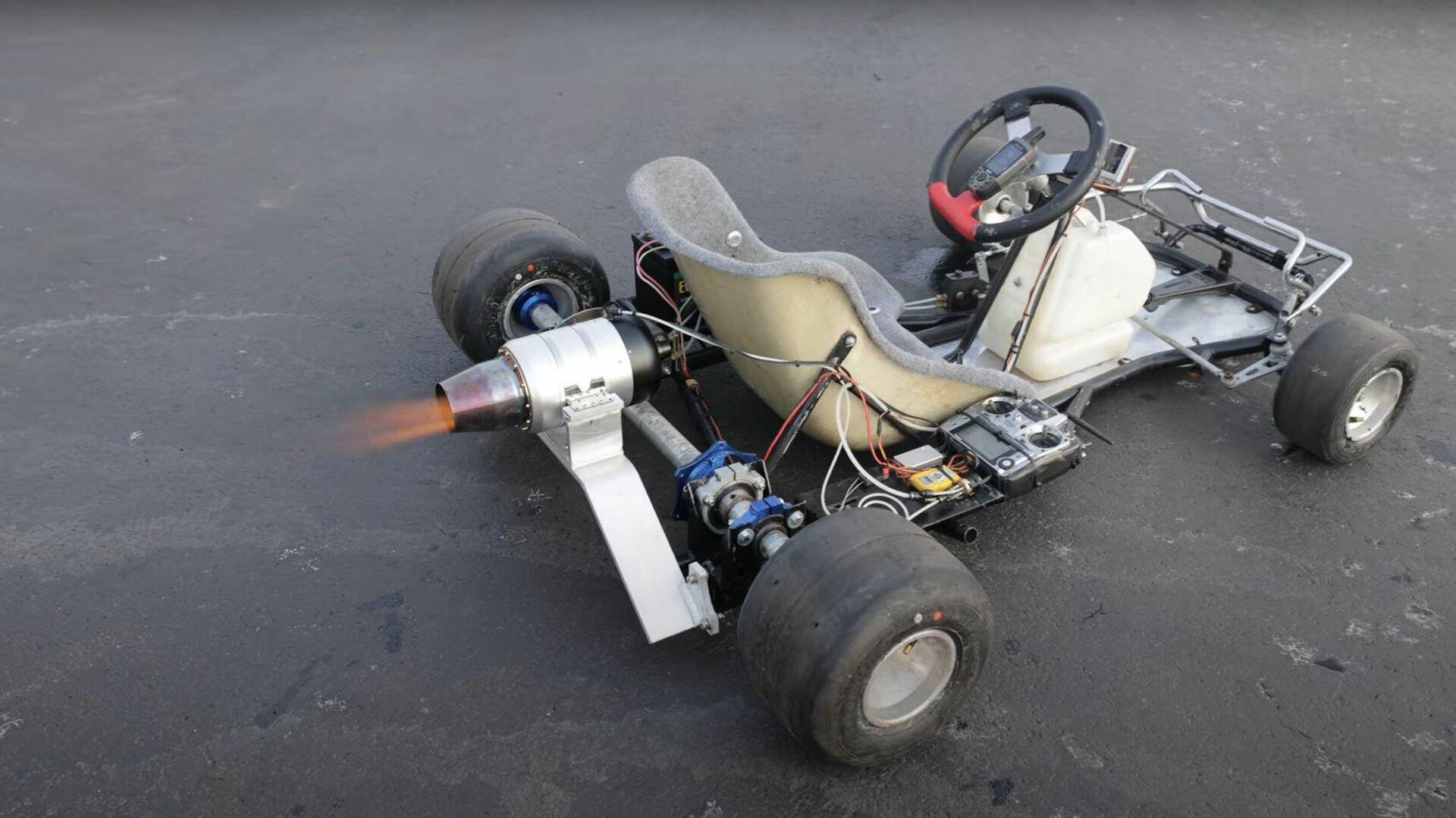 Un kart con un motor a reacción - Sputnik Mundo, 1920, 14.03.2021
