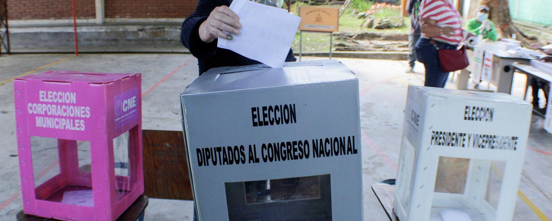Elecciones primarias en Honduras - Sputnik Mundo, 1920, 19.03.2021