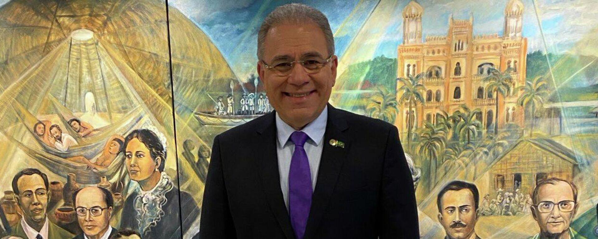 Marcelo Queiroga, ministro de Salud de Brasil - Sputnik Mundo, 1920, 22.09.2021