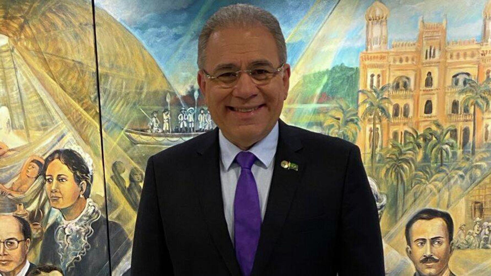 Marcelo Queiroga, ministro de Salud de Brasil - Sputnik Mundo, 1920, 01.10.2021