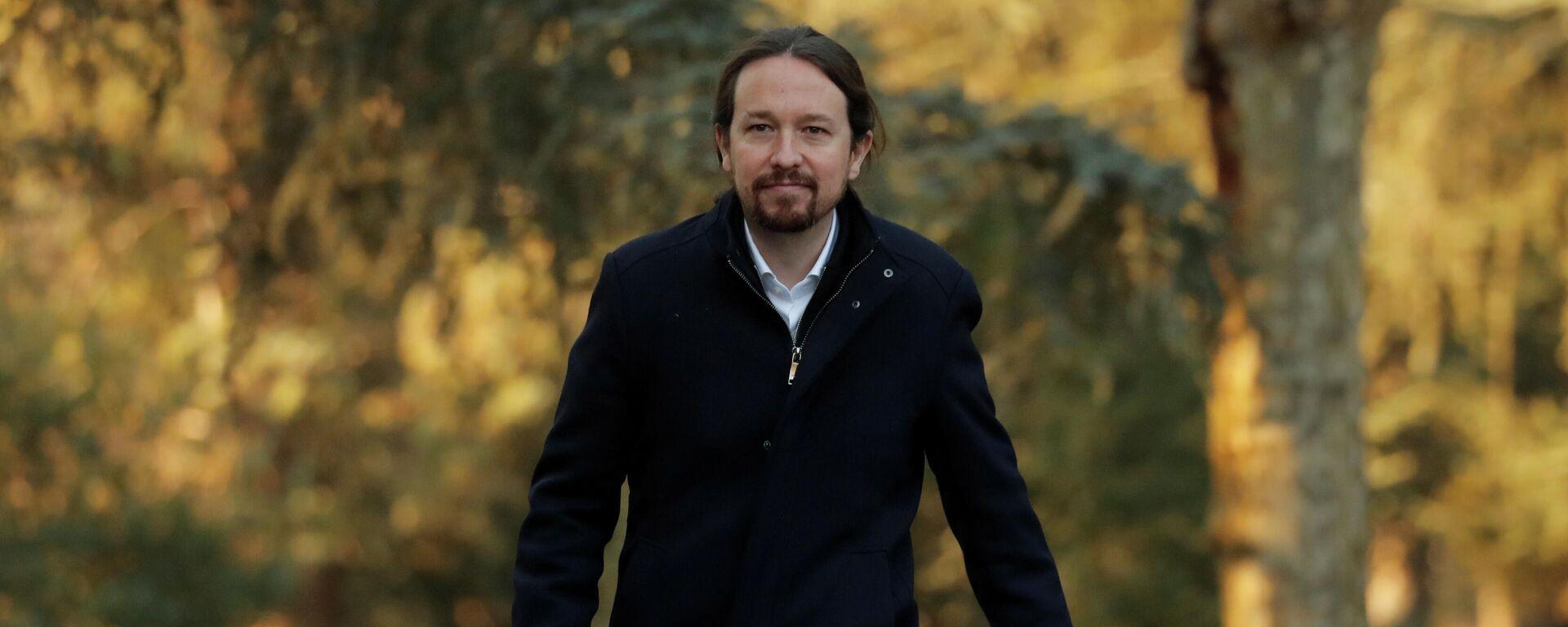 Pablo Iglesias, exlider de Podemos - Sputnik Mundo, 1920, 16.03.2021