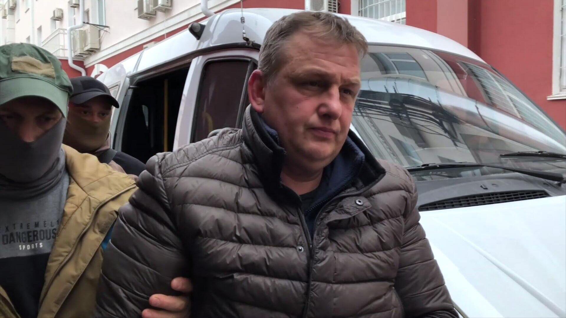 El ciudadano ruso Esipenko V.L. detenido en Crimea por espiar para Ucrania - Sputnik Mundo, 1920, 16.03.2021