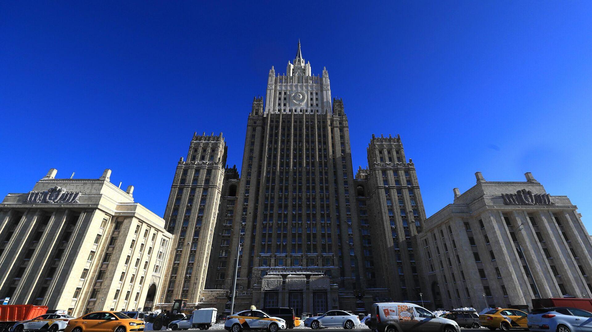 Ministerio de Asuntos Exteriores de Rusia - Sputnik Mundo, 1920, 17.03.2021