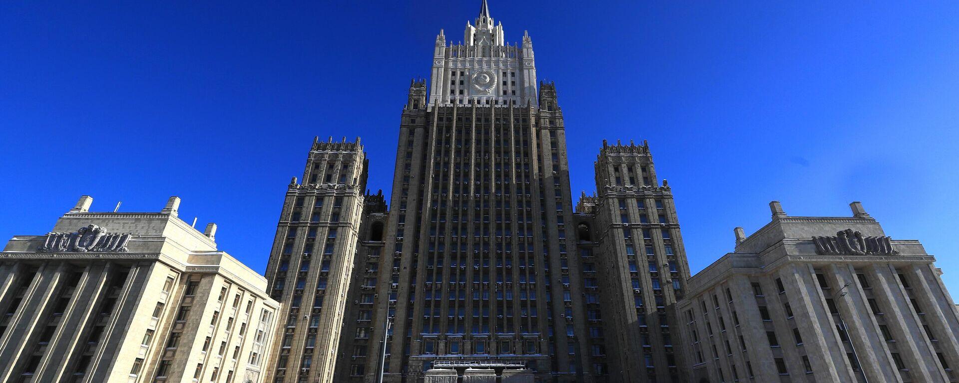 Ministerio de Asuntos Exteriores de Rusia - Sputnik Mundo, 1920, 19.08.2021
