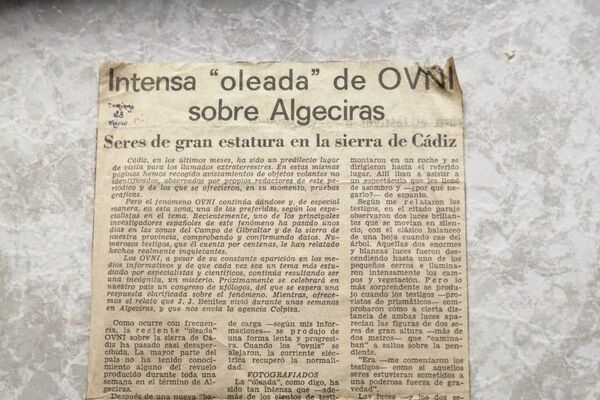 Archivo de la Agrupación Parapsicológica de Puerto Real - Sputnik Mundo