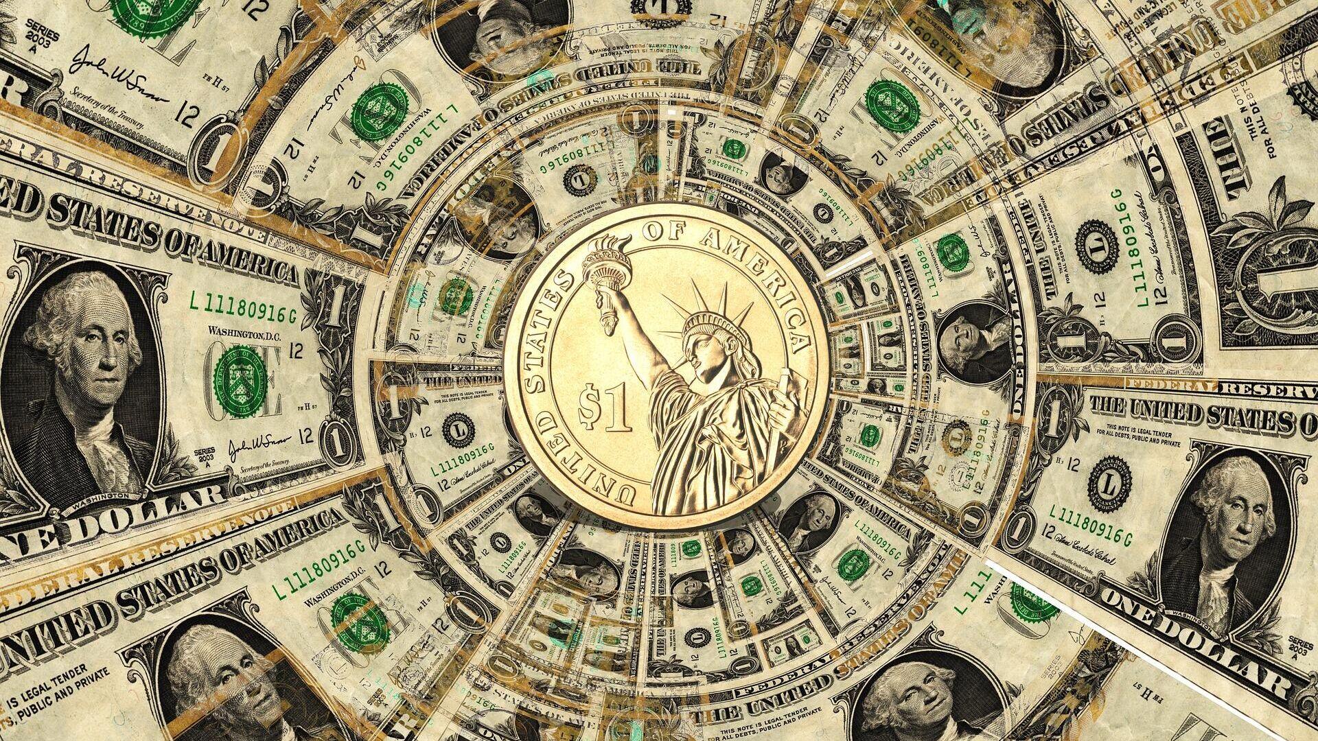 Dólares (imagen referencial) - Sputnik Mundo, 1920, 21.09.2021