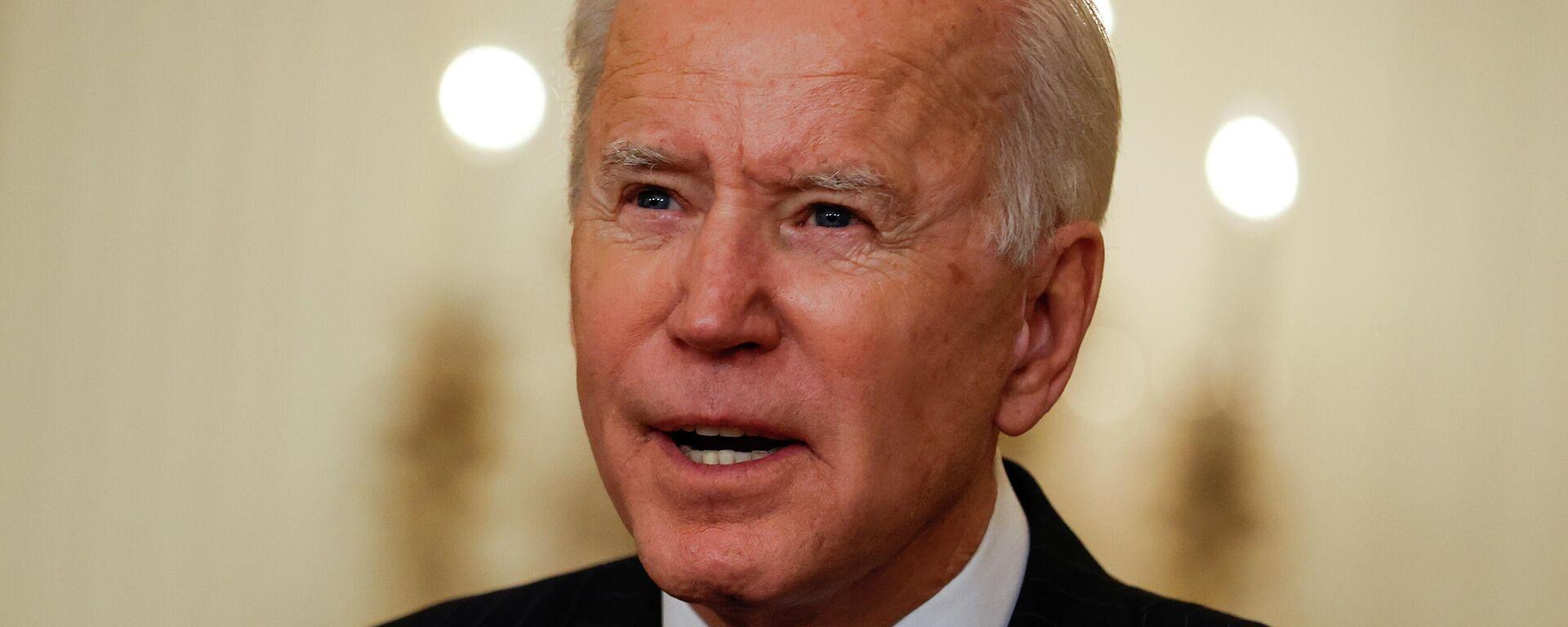 Joe Biden, presidente de EEUU - Sputnik Mundo, 1920, 19.03.2021