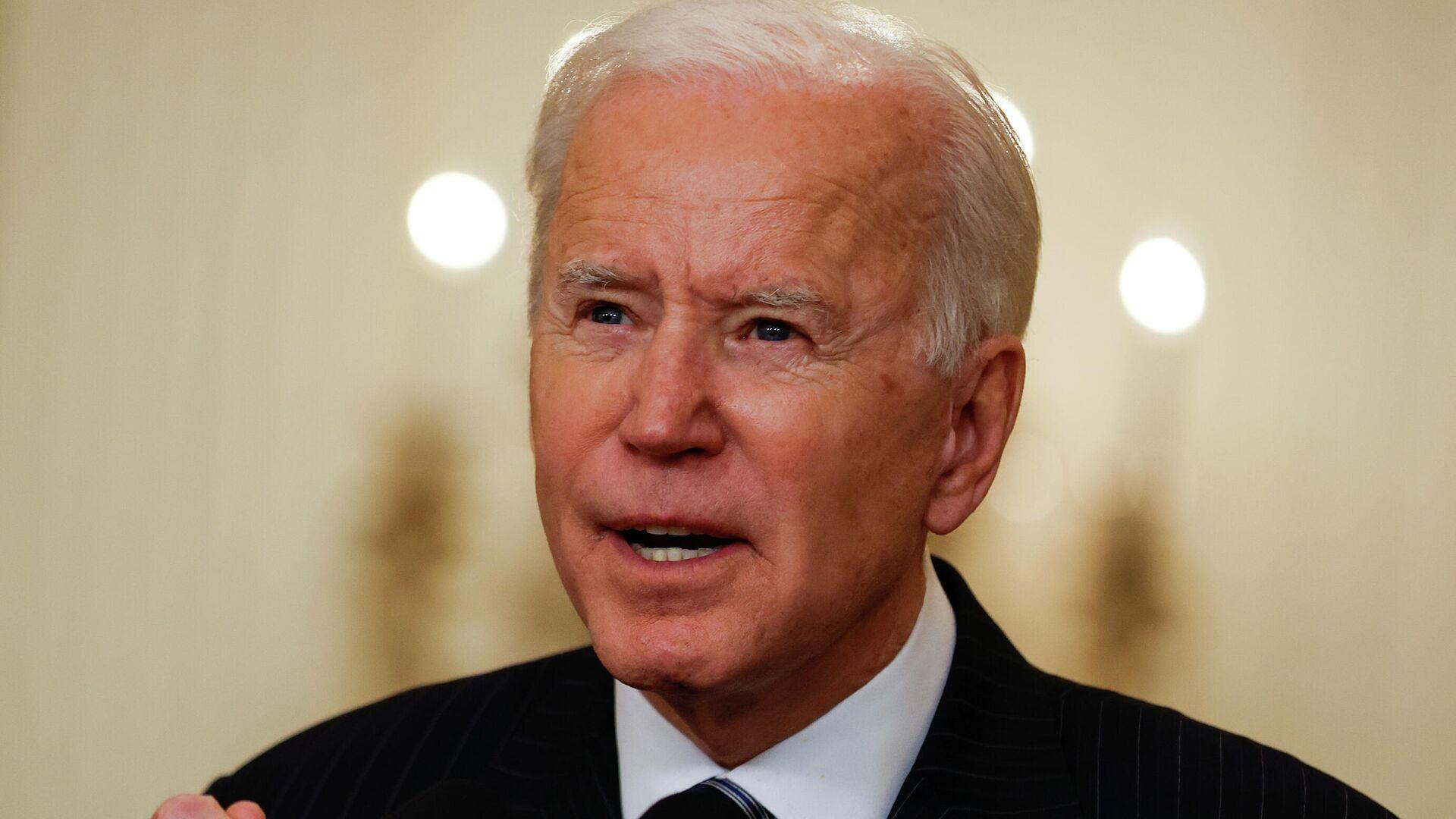 Joe Biden, presidente de EEUU - Sputnik Mundo, 1920, 30.03.2021