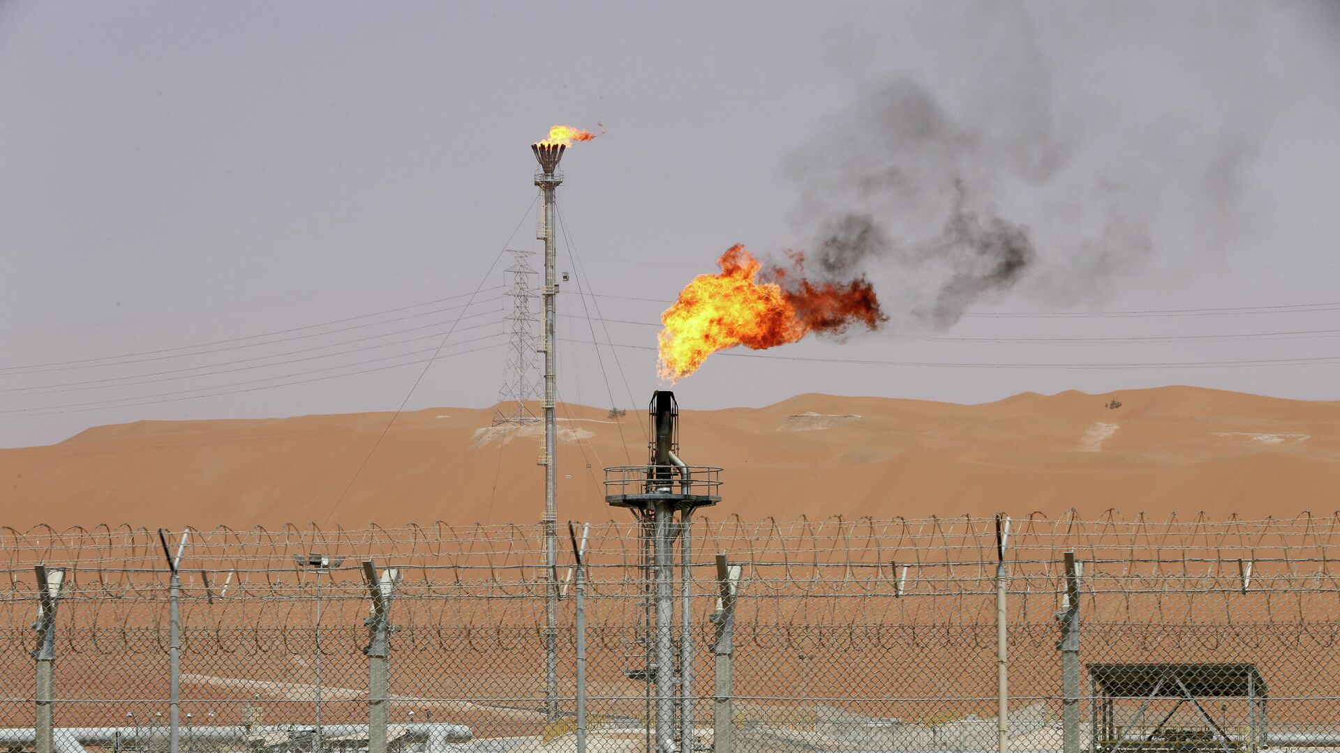 Refinerías de petróleo de Arabia Saudí Saudi Aramco - Sputnik Mundo, 1920, 19.03.2021