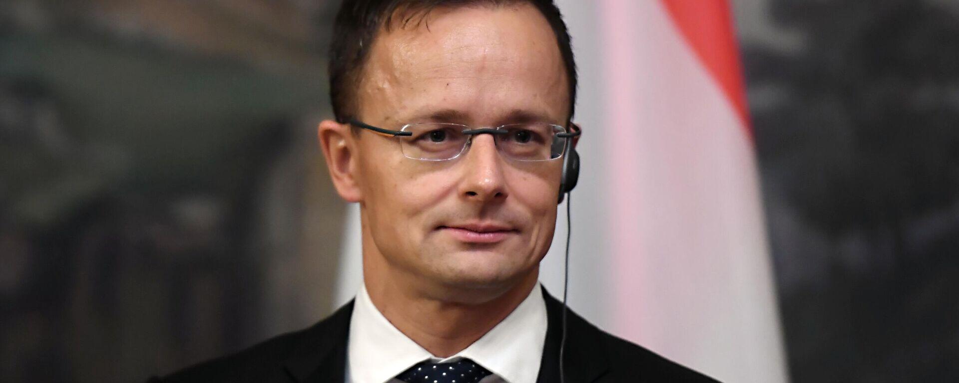 Peter Szijjarto, ministro de Exteriores de Hungría - Sputnik Mundo, 1920, 19.03.2021