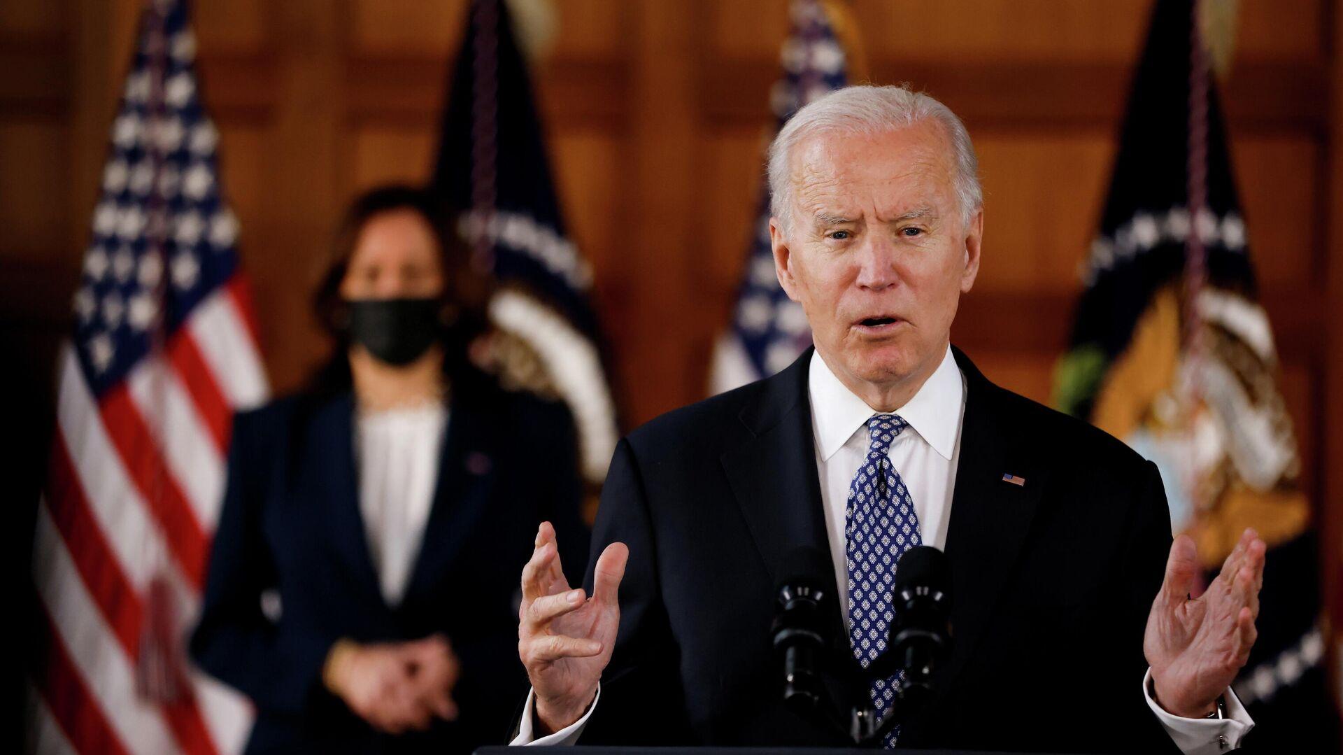 El presidente de EEUU, Joe Biden - Sputnik Mundo, 1920, 22.03.2021