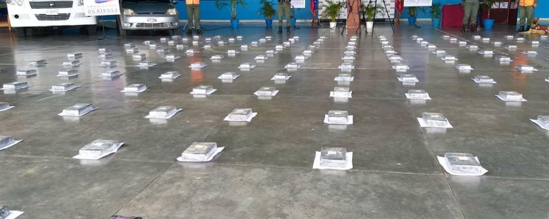 Droga incautada por las autoridades de Venezuela - Sputnik Mundo, 1920, 24.09.2021