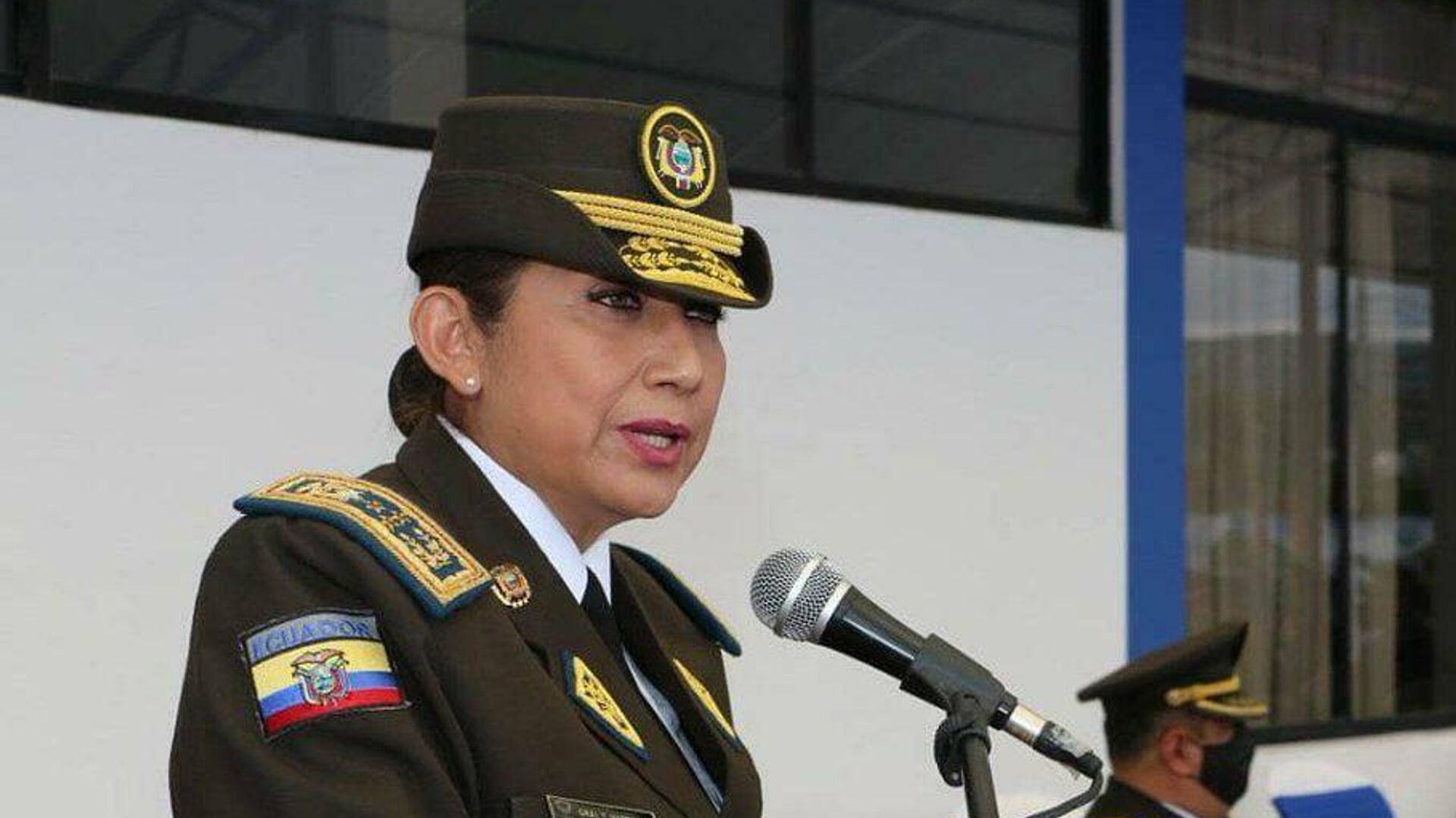 Tannya Varela, comandante general de la Policía Nacional de Ecuador - Sputnik Mundo, 1920, 22.03.2021