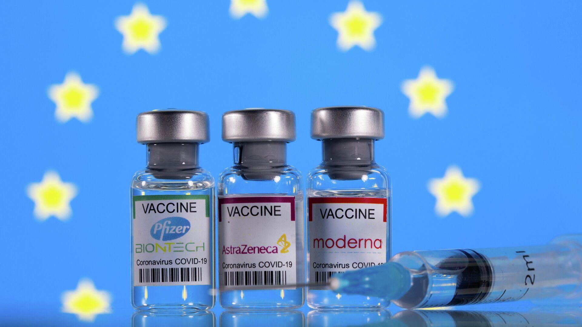 Vacunas anti-COVID aprobadas en la Unión Europea - Sputnik Mundo, 1920, 23.03.2021