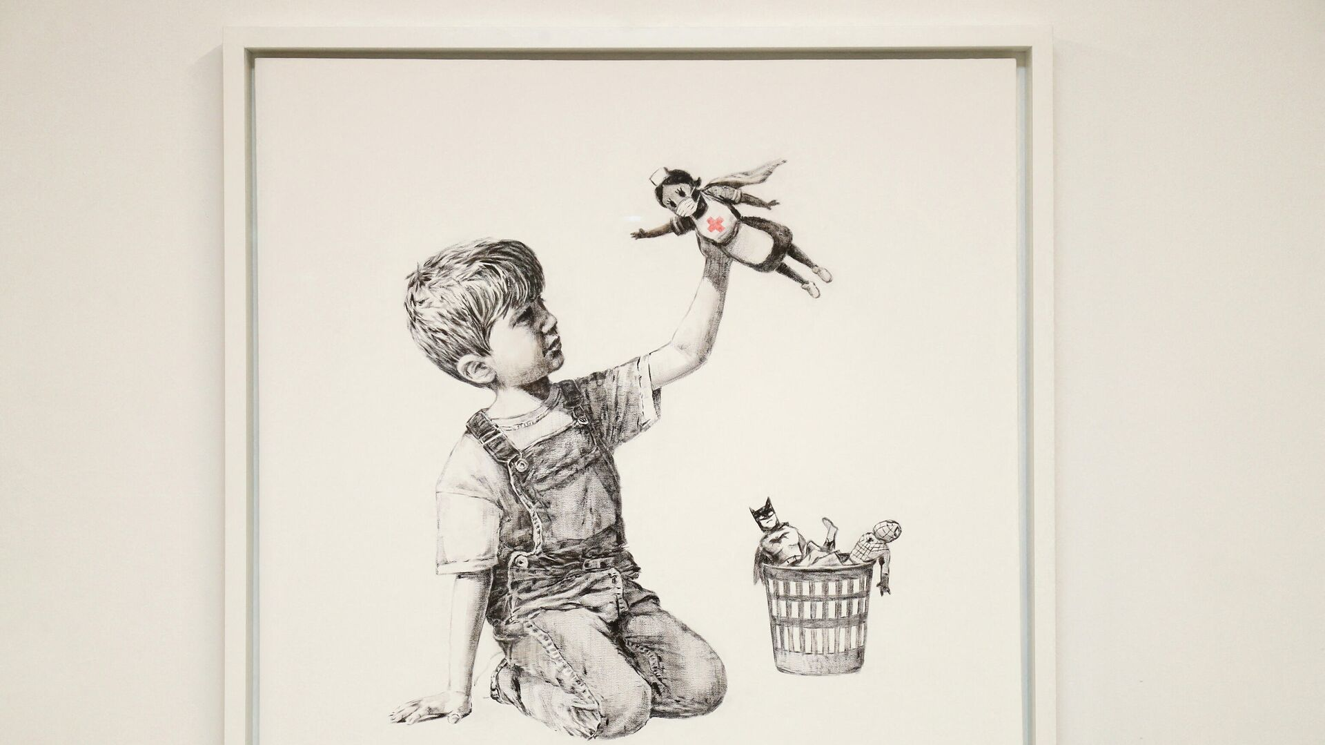 La obra Game Changer (Cambiador de juego) de Banksy - Sputnik Mundo, 1920, 23.03.2021