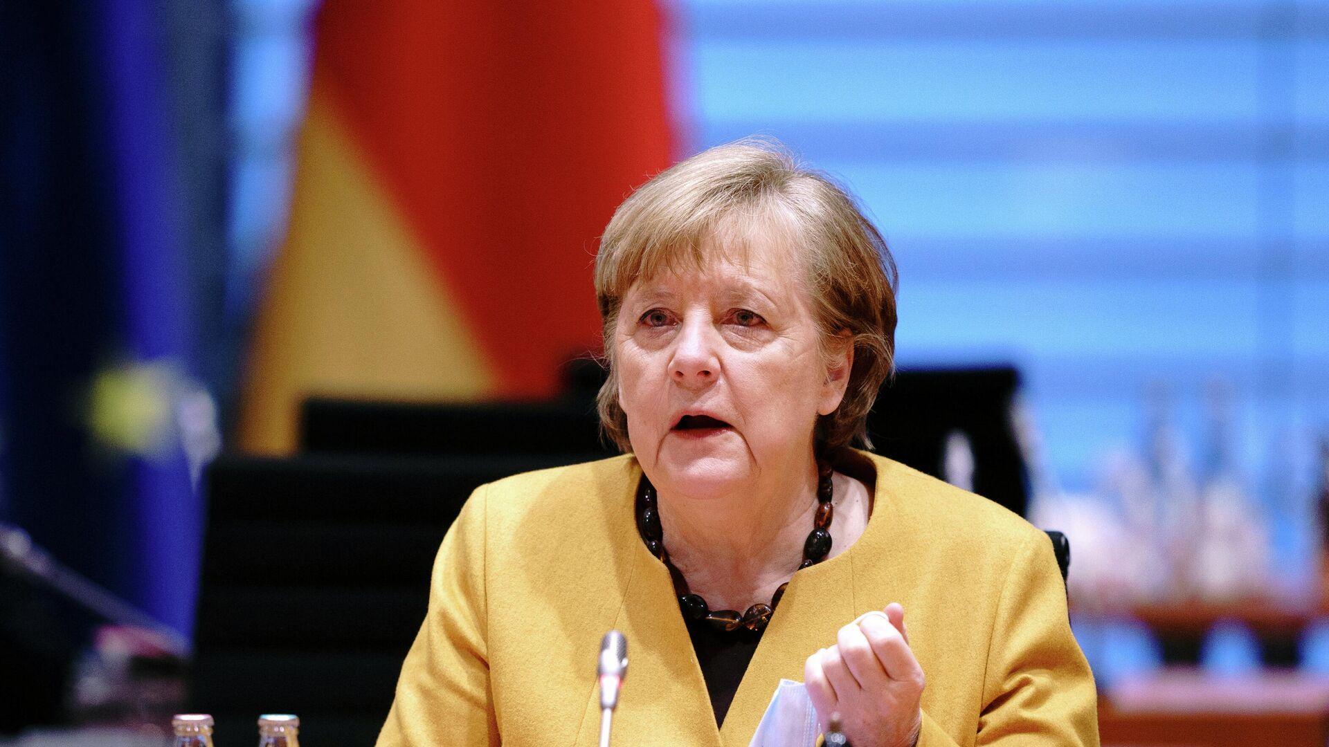 Angela Merkel, canciller alemana - Sputnik Mundo, 1920, 24.03.2021