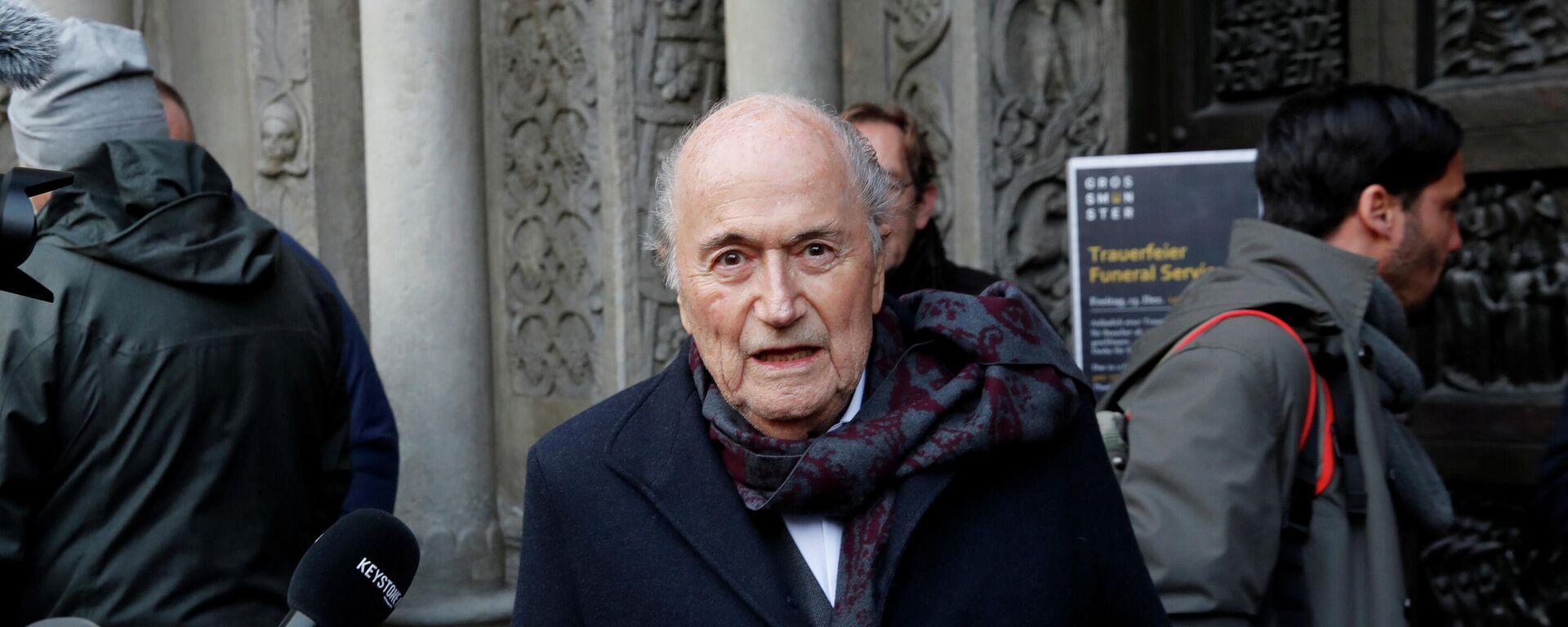 Joseph Blatter, expresidente de la Federación Internacional de Fútbol (FIFA) - Sputnik Mundo, 1920, 24.03.2021