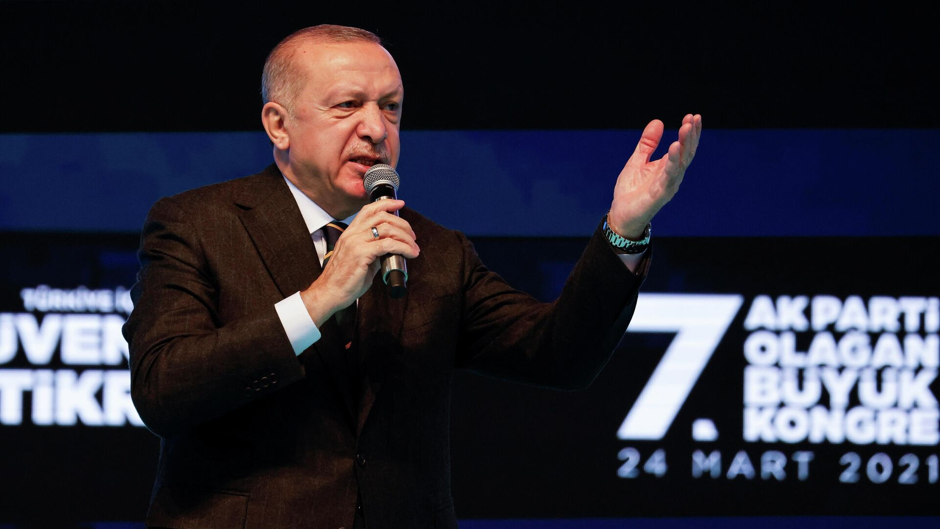 Recep Tayyip Erdogan, presidente turco - Sputnik Mundo, 1920, 24.03.2021