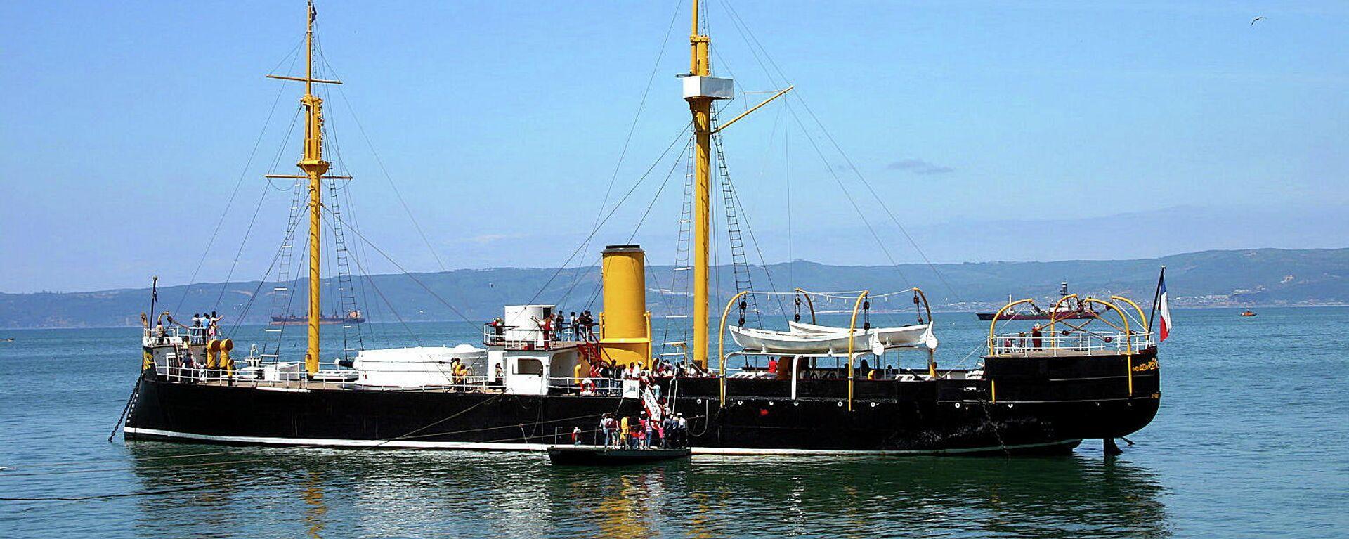 El buque peruano Huáscar, capturado por Chile durante la Guerra del Pacífico - Sputnik Mundo, 1920, 24.03.2021