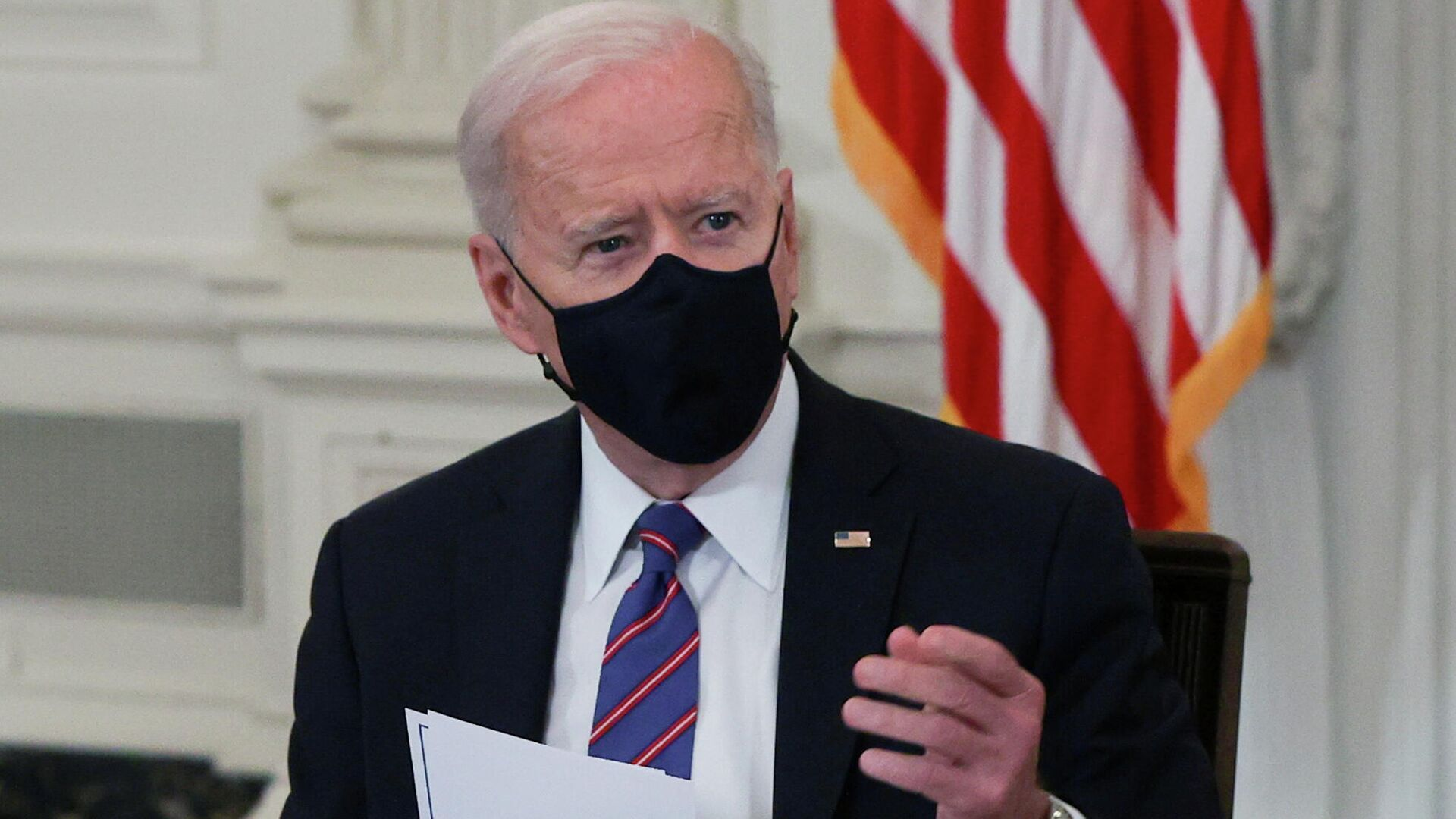 Joe Biden, presidente de EEUU - Sputnik Mundo, 1920, 24.03.2021