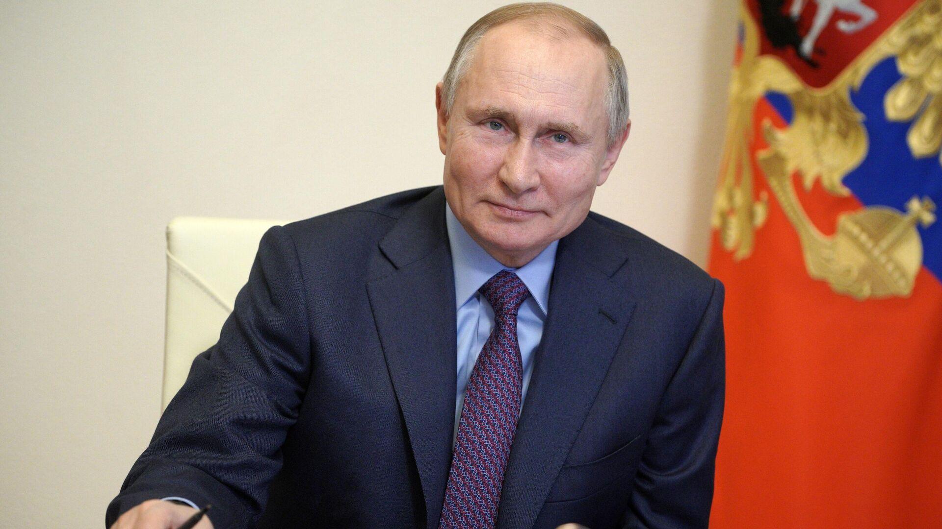 Vladímir Putin, presidente de Rusia - Sputnik Mundo, 1920, 25.03.2021