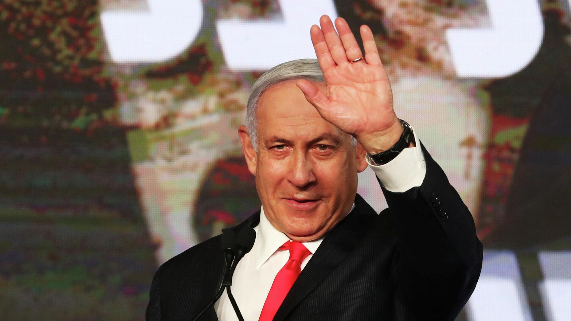 Benjamín Netanyahu, primer ministro israelí - Sputnik Mundo, 1920, 25.03.2021
