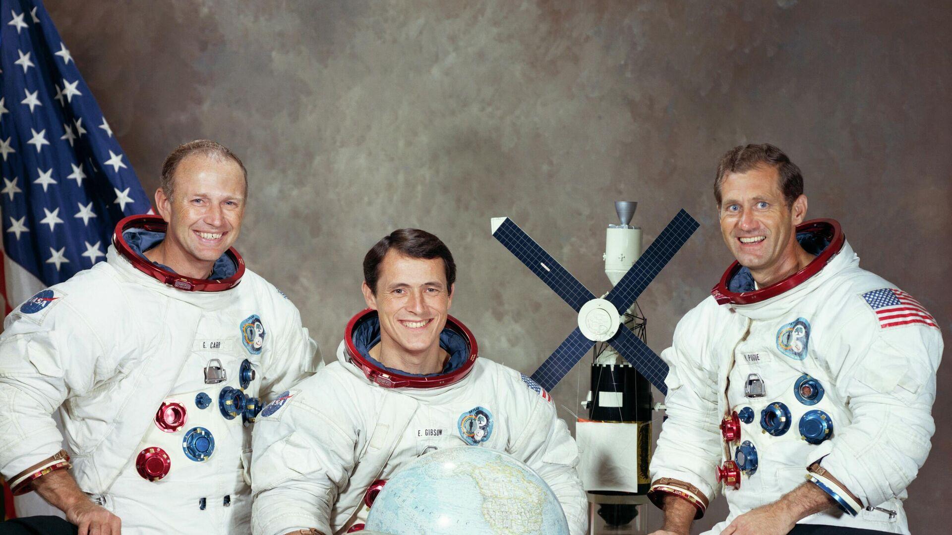 Los astronautas que participaron en la misión Skylab 4 - Sputnik Mundo, 1920, 25.03.2021