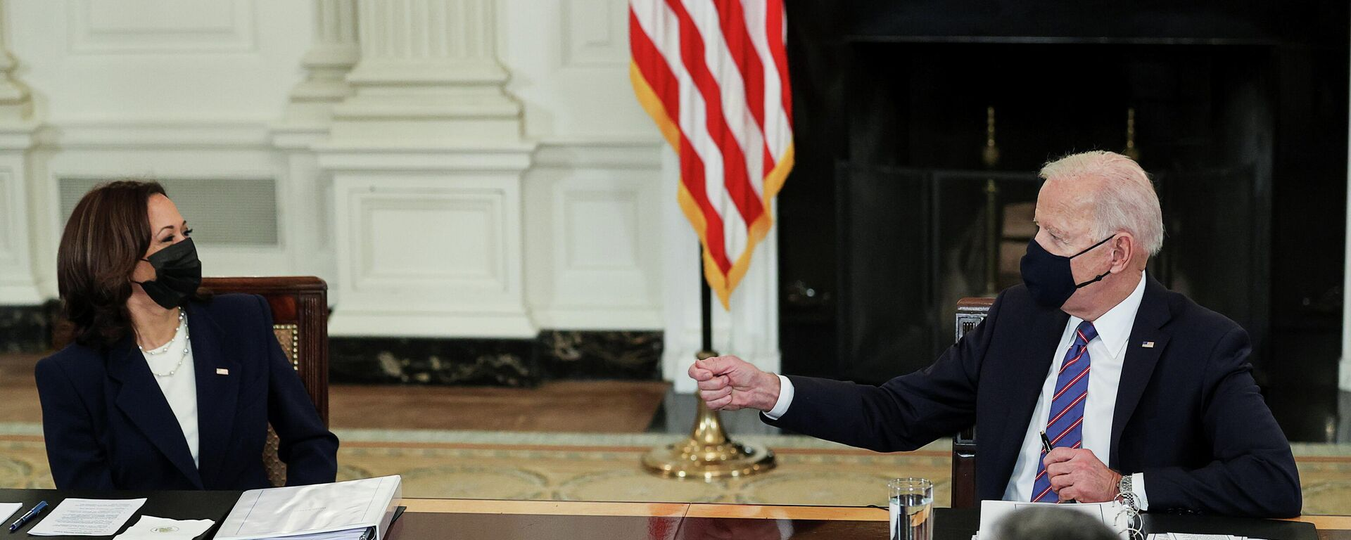 Joe Biden, presidente de EEUU, y Kamala Harris, vicepresidenta - Sputnik Mundo, 1920, 26.03.2021