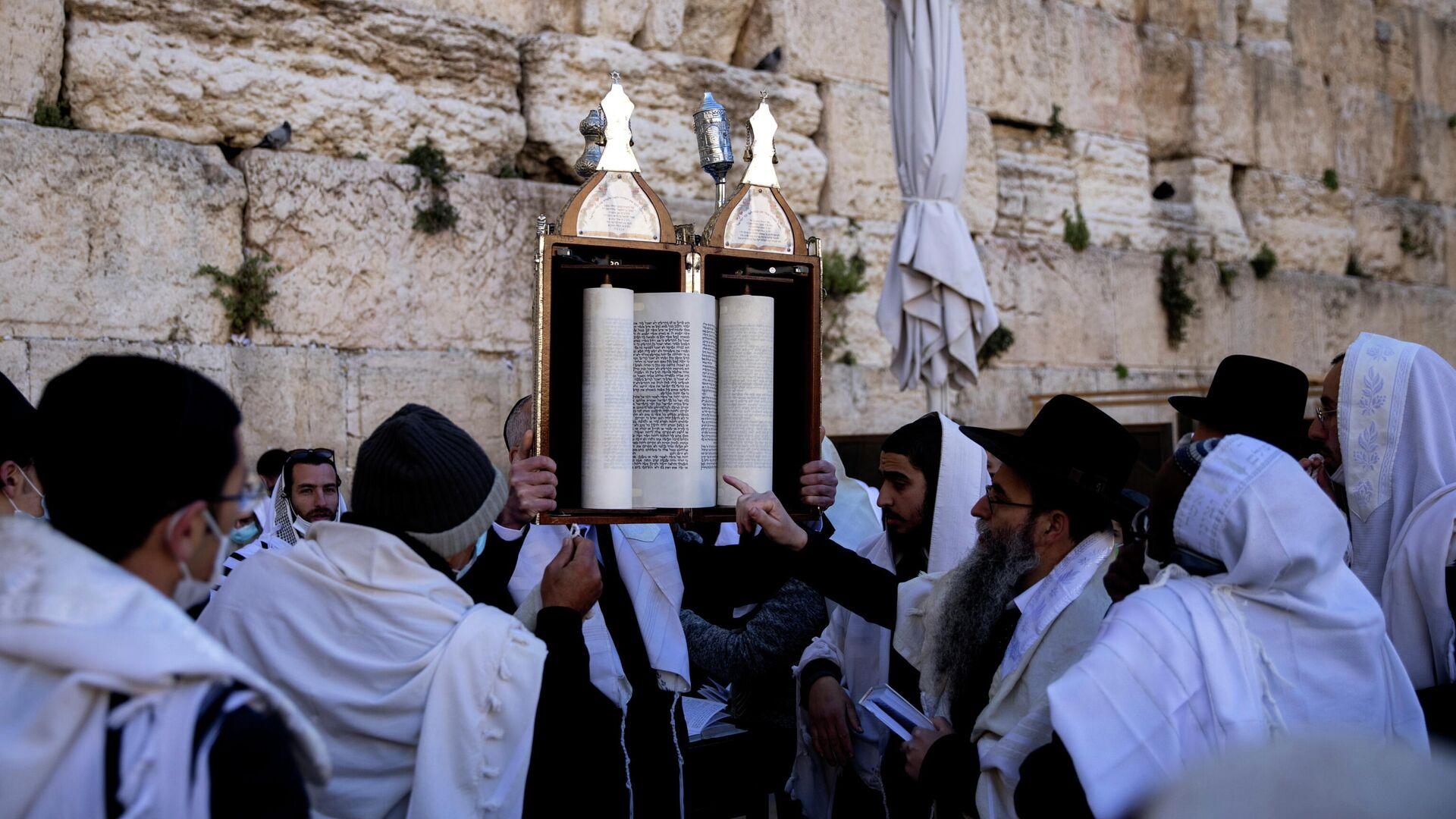 La ceremonia de Pascua judía en Jerusalén  - Sputnik Mundo, 1920, 29.03.2021