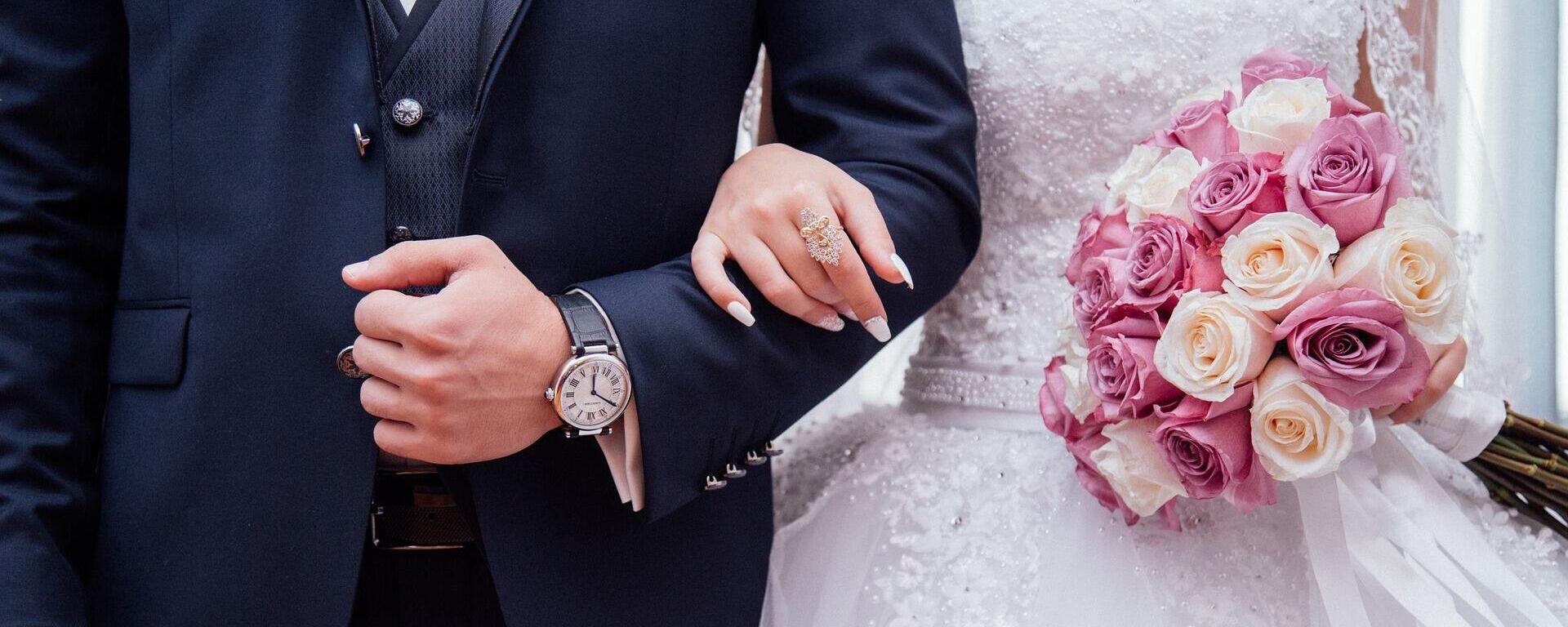 Boda, casamiento. Imagen referencial - Sputnik Mundo, 1920, 29.03.2021
