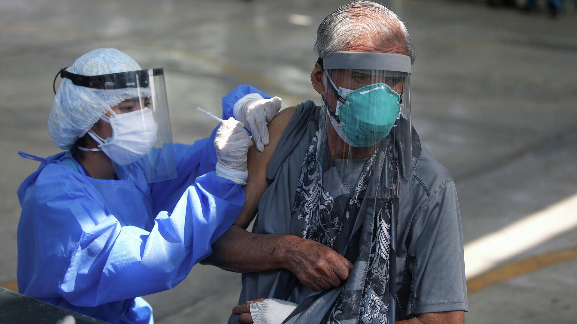Vacunación en Perú - Sputnik Mundo, 1920, 29.03.2021