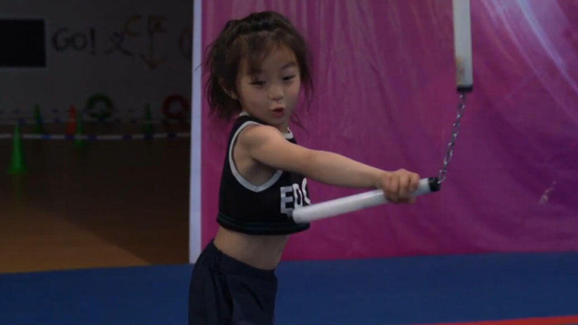 Una niña china domina las artes marciales  - Sputnik Mundo, 1920, 30.03.2021
