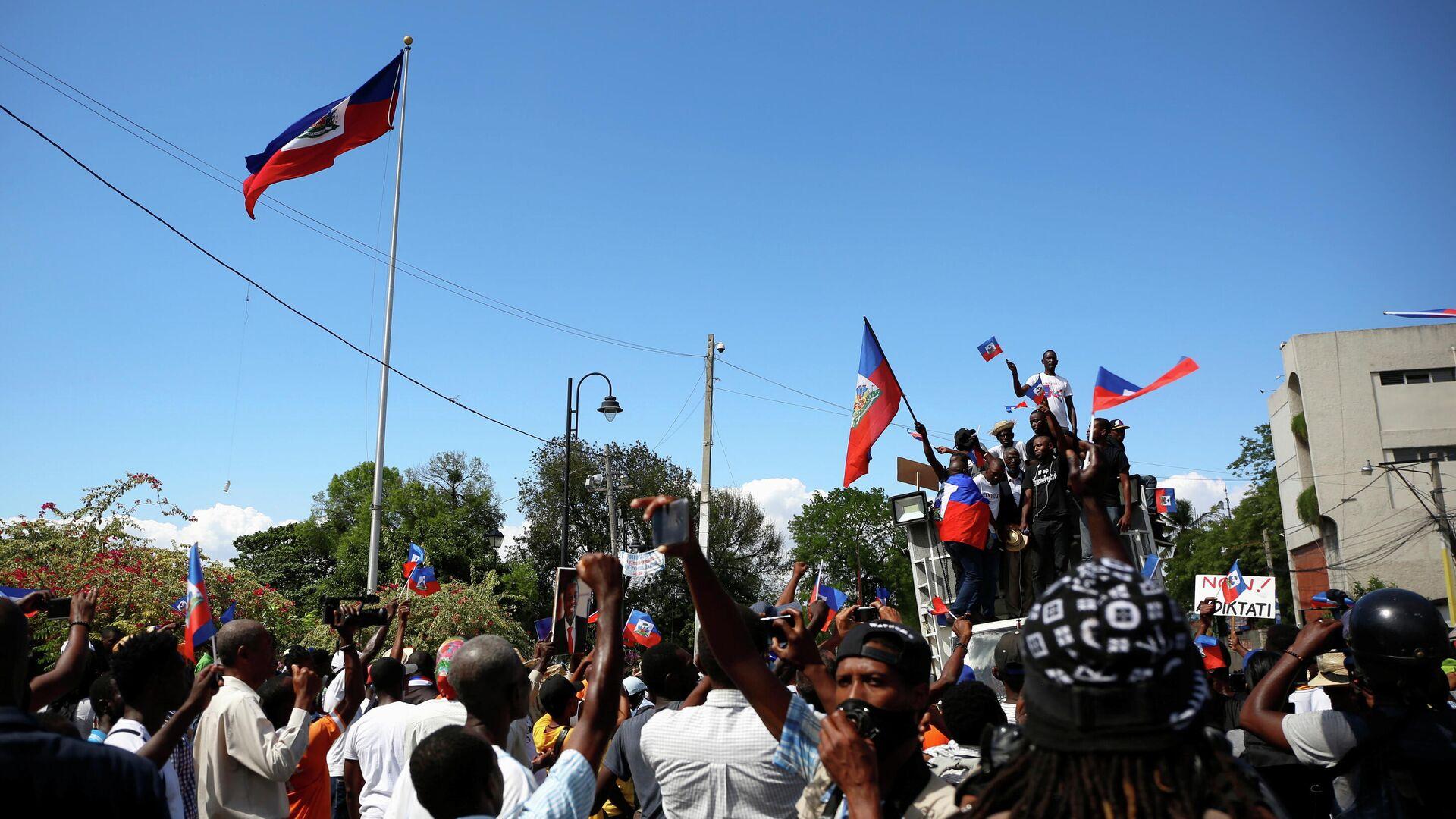 Protestas en Haití - Sputnik Mundo, 1920, 30.03.2021