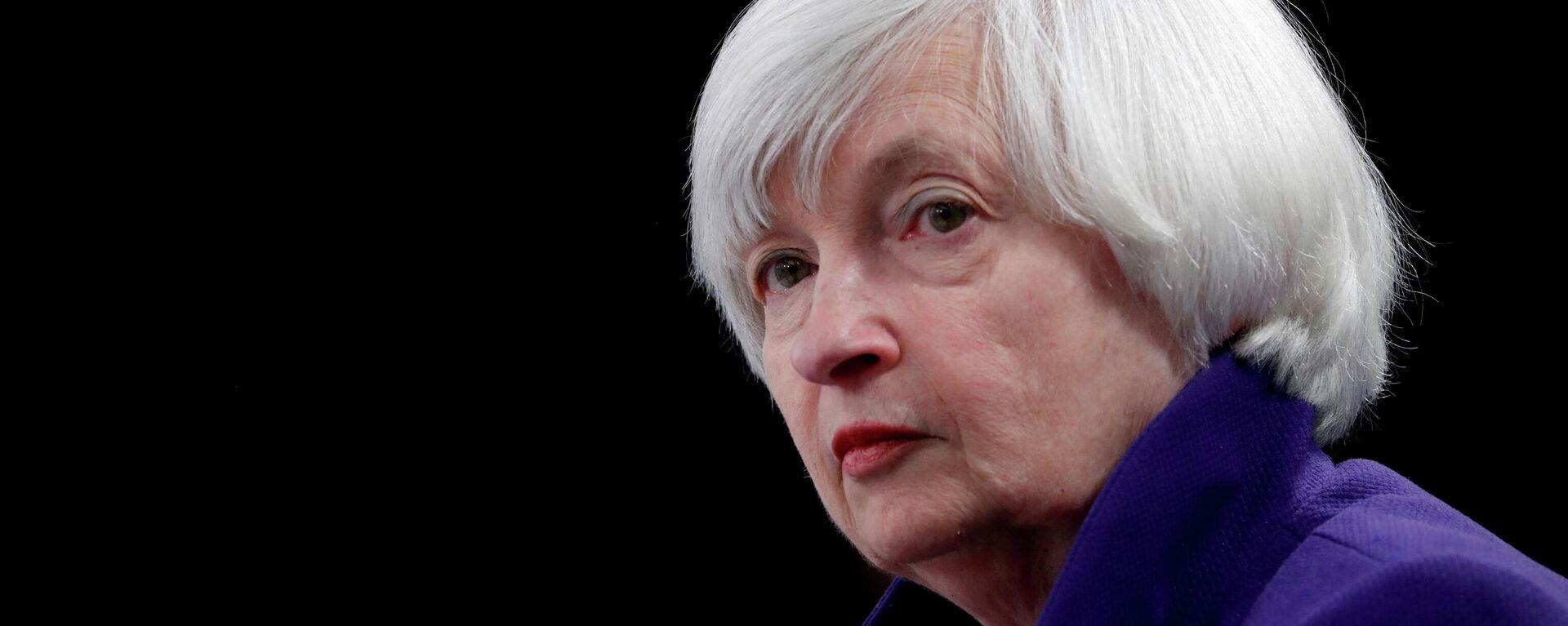 Janet Yellen, secretaria del Tesoro de EEUU - Sputnik Mundo, 1920, 21.09.2021