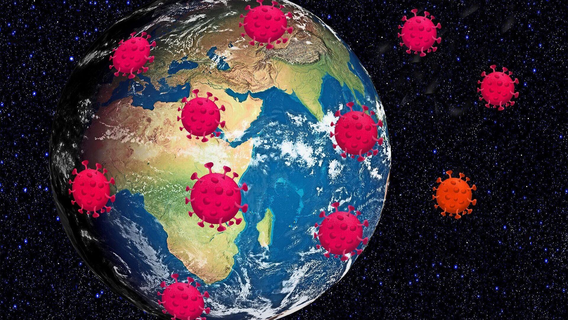 Propagación del coronavirus en el mundo (imagen referencial) - Sputnik Mundo, 1920, 19.09.2021