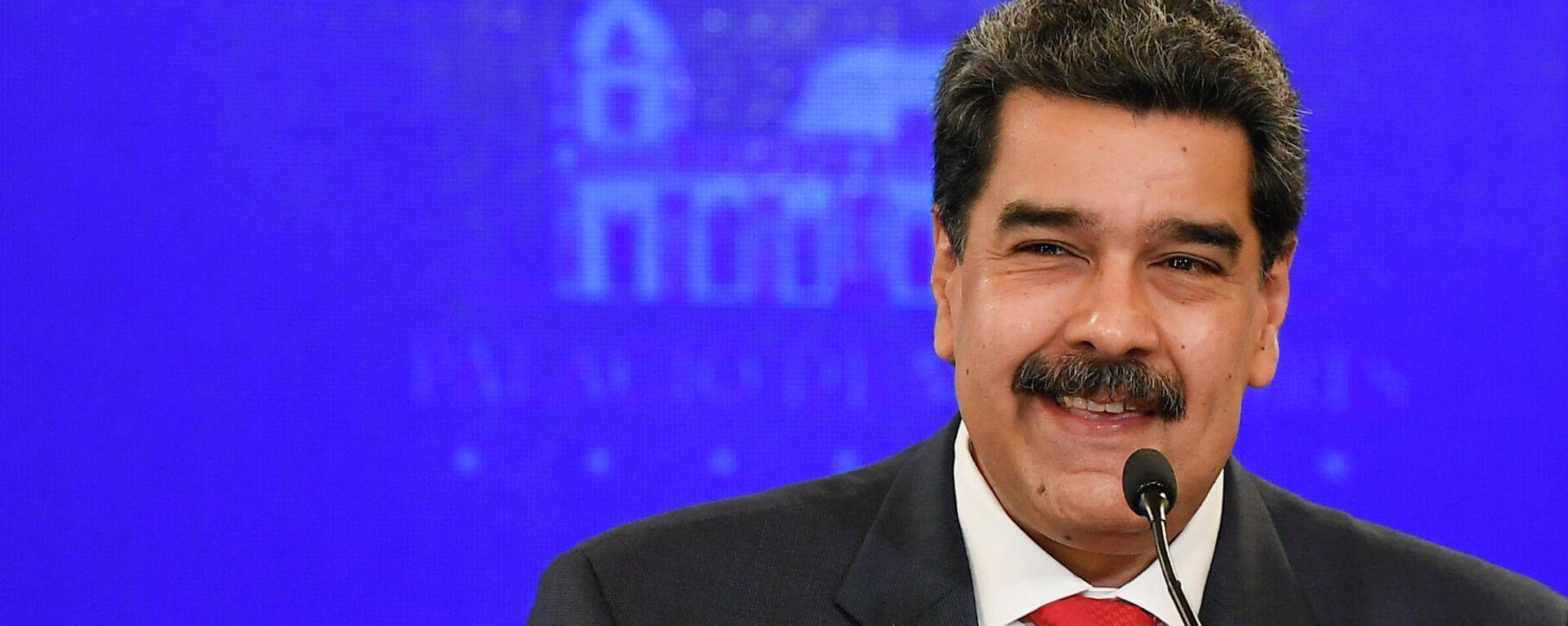 Nicolás Maduro, presidente de Venezuela - Sputnik Mundo, 1920, 31.08.2021