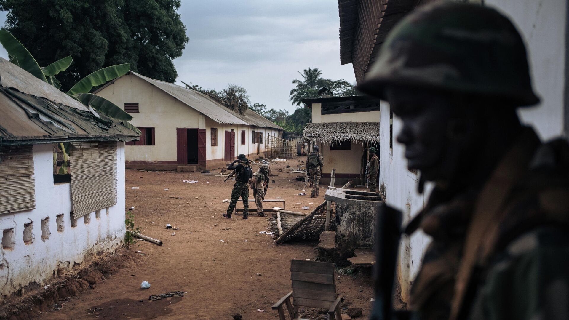 Militares en la República Centroafricana - Sputnik Mundo, 1920, 06.10.2021