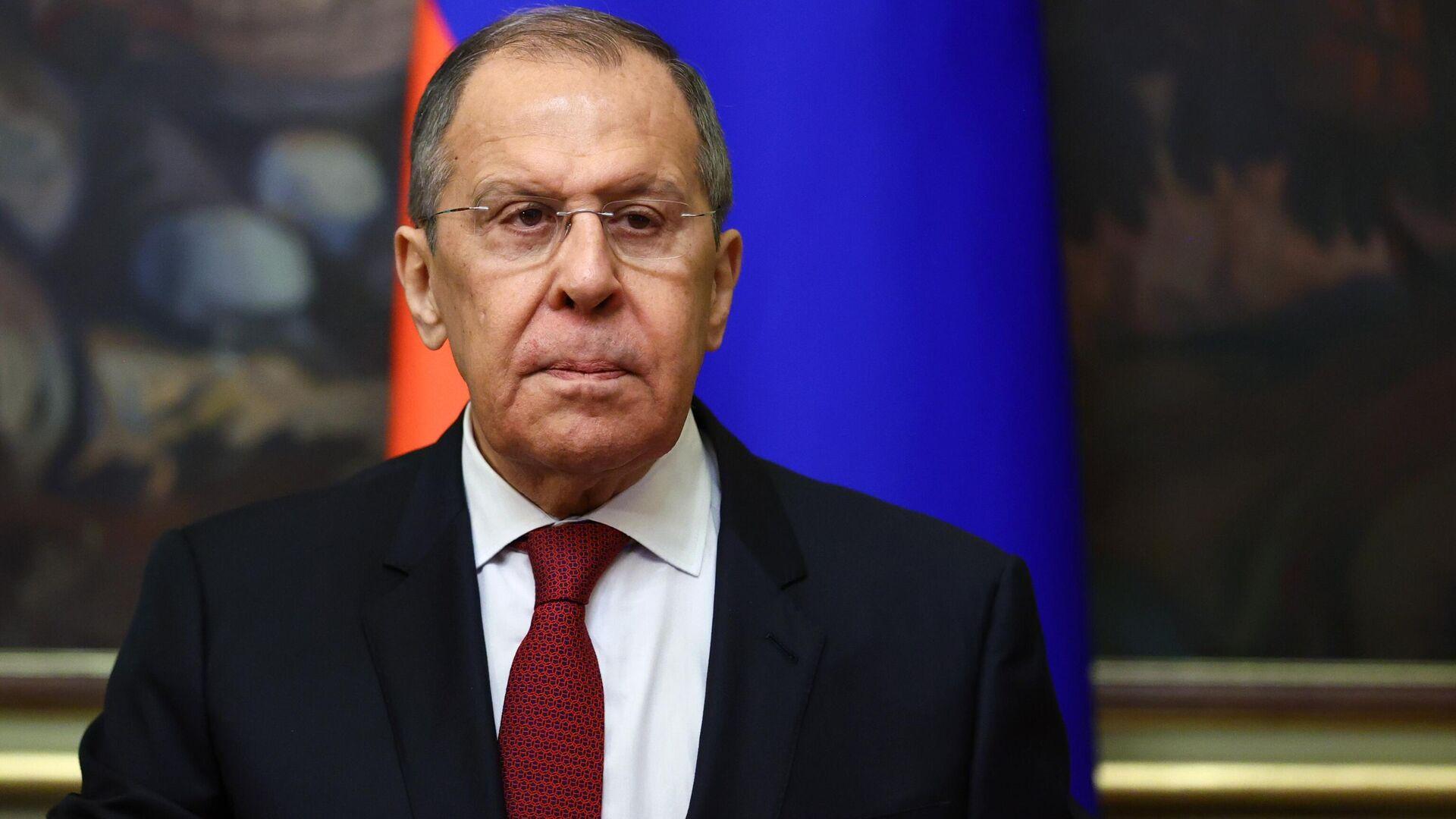 Serguéi Lavrov, ministro de Exteriores de Rusia - Sputnik Mundo, 1920, 23.08.2021