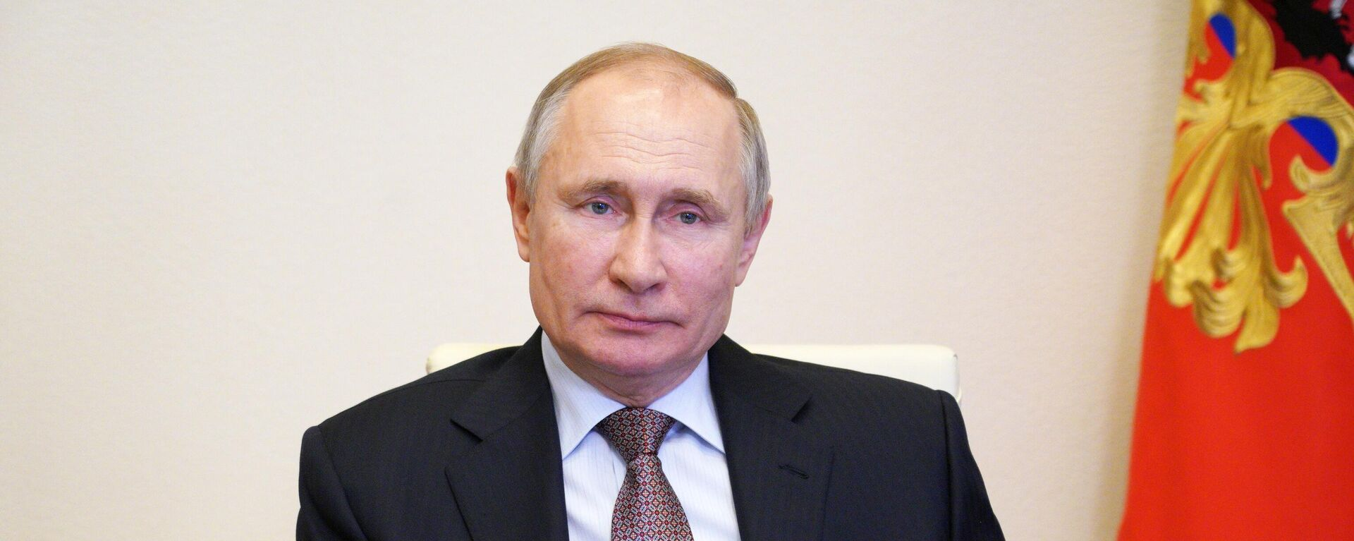 Vladímir Putin, presidente de Rusia - Sputnik Mundo, 1920, 21.07.2021